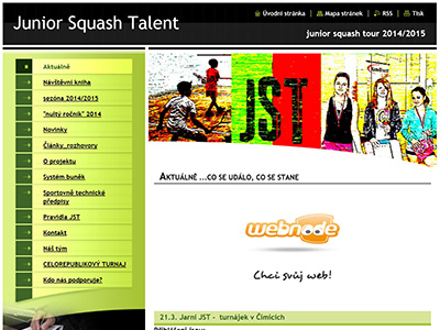 <strong>Junior squash talent</strong>
