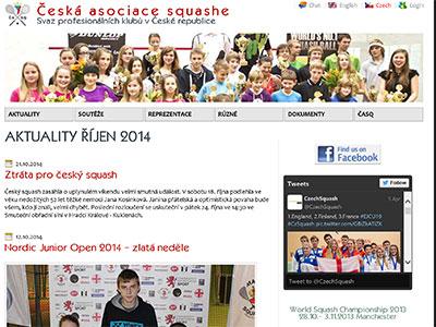 <strong>Česká asociace squashe 2012-2015</strong>
