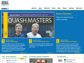 <strong> European Squash Federation</strong>