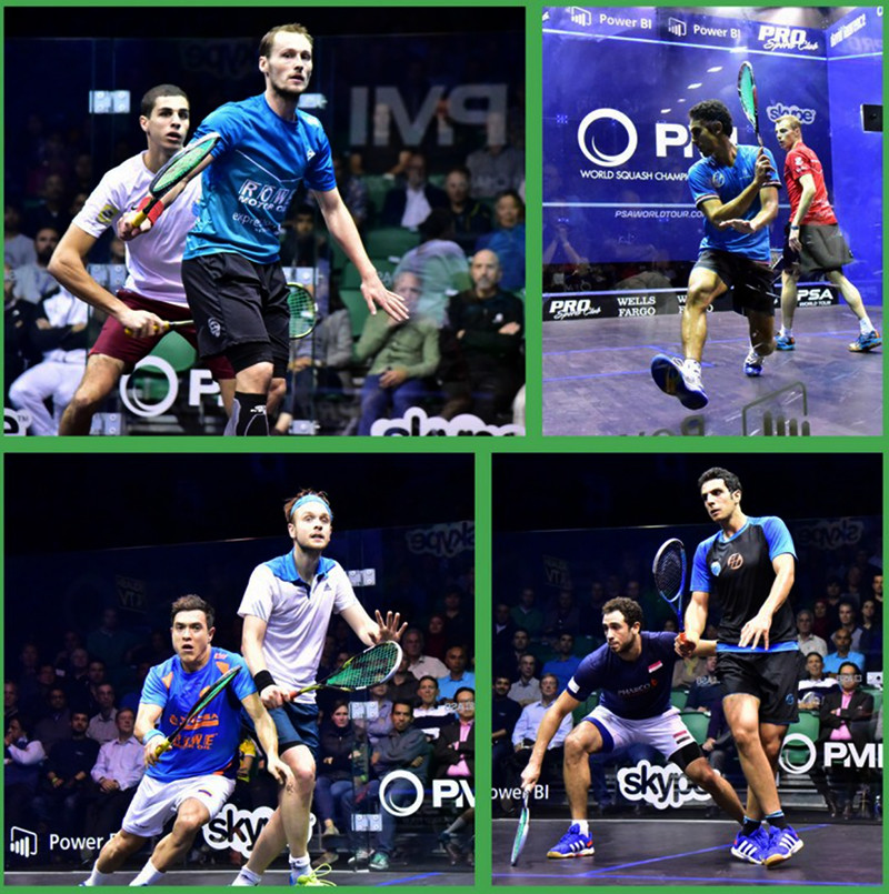 Mistrovství světa mužů ve squashi - semifinalisté