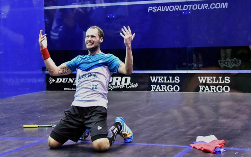 Mistr světa ve squashi 2015 Gregory Gaultier