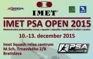 Imet PSA Open 2015