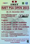 Squashový turnaj Imet PSA Open 2015