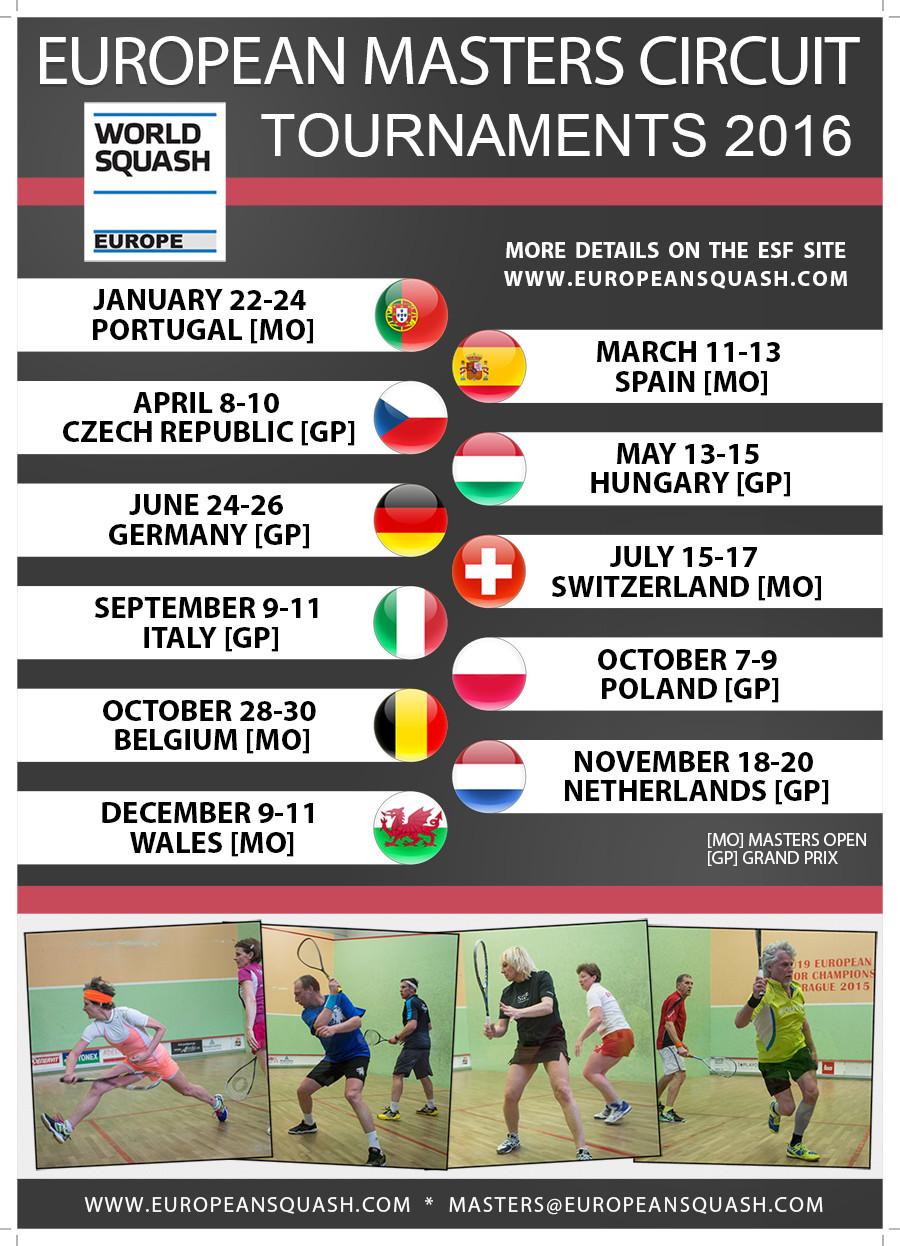 European Masters Circuit 2016