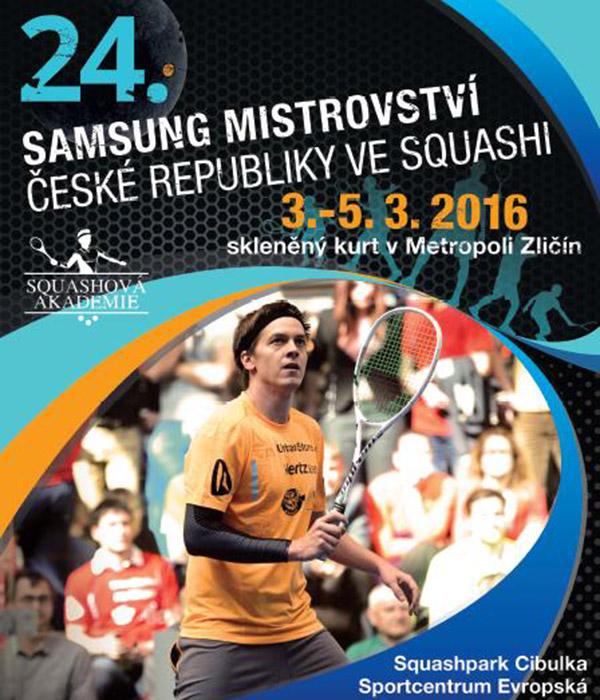 Mistrovství republiky ve squashi 2016