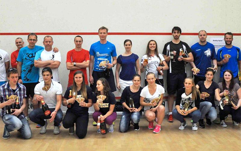 Mistrovství republiky ve squashové čtyřhře 2016