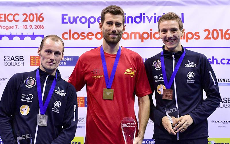 Mistrovství Evropy jednotlivců ve squashi 2016