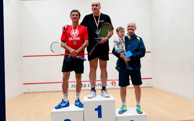 Polish Squash Masters 2016 Pavel Sladecek