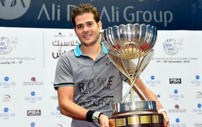 Karim Abdel Gawad vítězí na Qatar Classic 2016