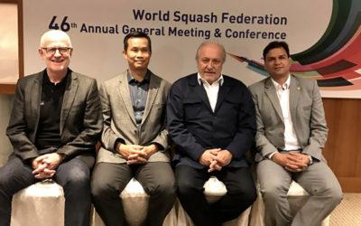 Presidentem Světové federace squashe zvolen Jacques Fontaine