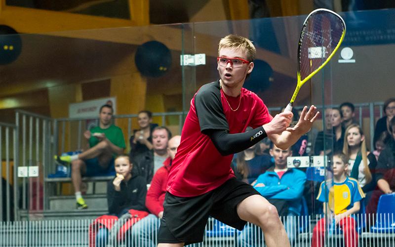 Benjamin Bergel vyhrál Polish Squash Junior Open 2016