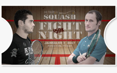 Fight Night Squash Match