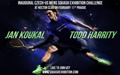 Squashová exhibice
