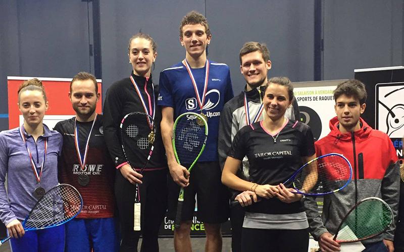 Francouzské squashové tituly