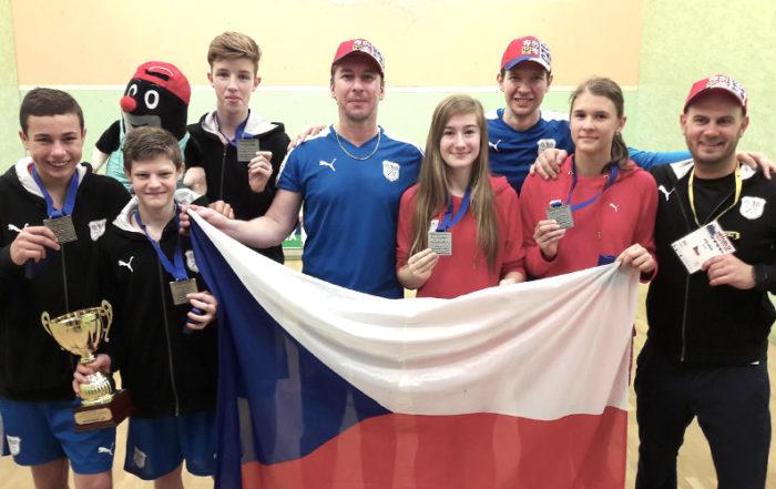 Stříbro ze squashového Mistrovství Evropy